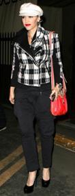 Gwen Stefani Red Handbag