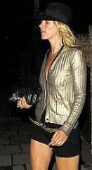 Kate Moss Patent Clutch Bag
