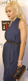 Gwen Stefani Black Clutch Bag