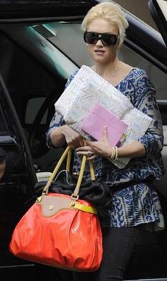 Gwen Stefani Orange Handbag
