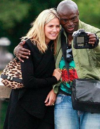 Heidi Klum Leopard Handbag