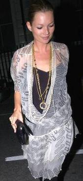 Kate Moss Black Clutch Bag