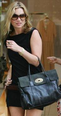 Kate Moss Leather Handbag