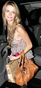 Mischa Barton Chloe Paddington Bag