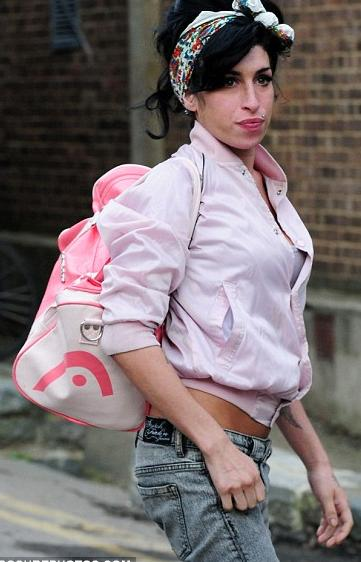 Amy Winehouse Pink Traveller Bag