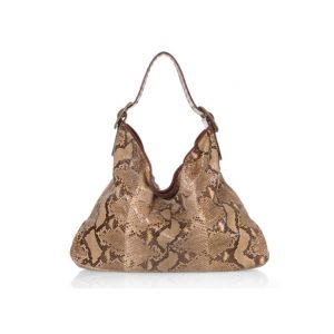 Be & E Crawford Roccia Python Hobo Handbag