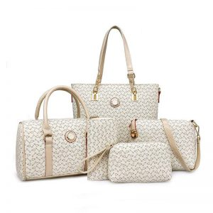 Five Piece JP Handbag Set with Shopper, Doctor, Shoulder, Clutch & Purse